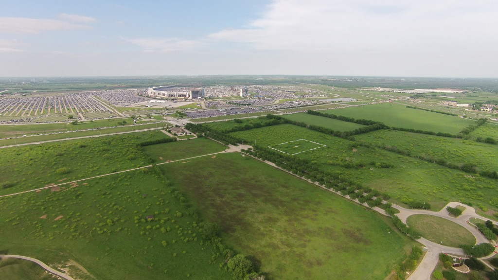 aerial, drone, commercial real estate development